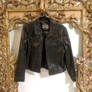 Guess Vintage Leather Jacket